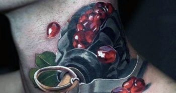 mens-neck-grenade-tattoo-with-red-balls