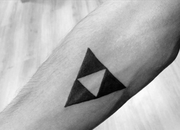 guys-zelda-geometric-simple-forearm-tattoo