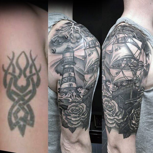 Top 30 Cover Up Tattoos For Men