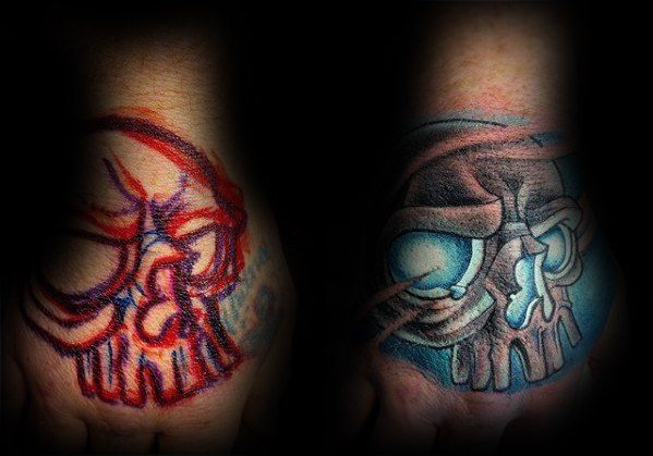 mens-hand-glowing-blue-skull-tattoo-cover-up-ideas