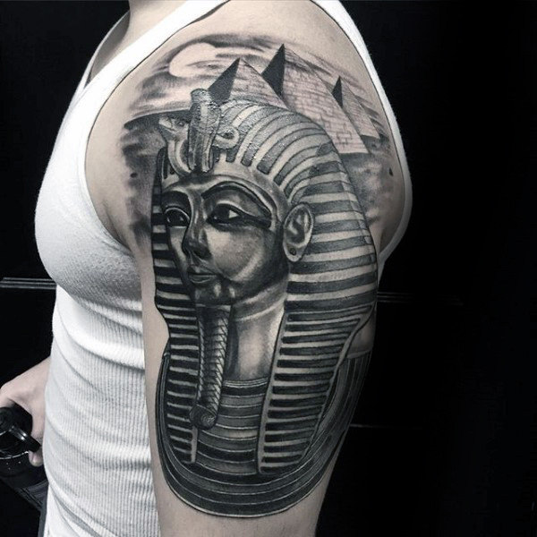king-tut-with-the-great-pyramids-mens-half-sleeve-tattoos