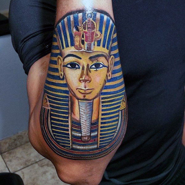 outer-forearm-guys-king-tut-tattoos