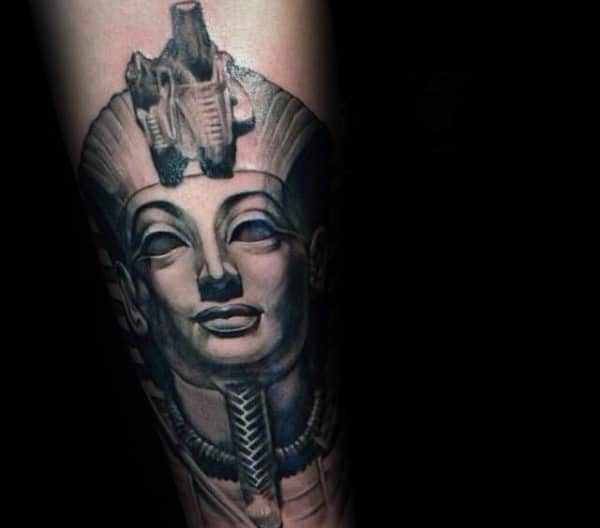 shaded-king-tut-male-tattoo-inspiration-on-forearms