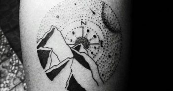 simple-compass-tattoo-ideas-for-men