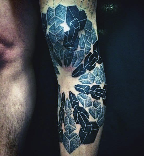 blue-square-sacred-geometry-tattoo-styles-for-men