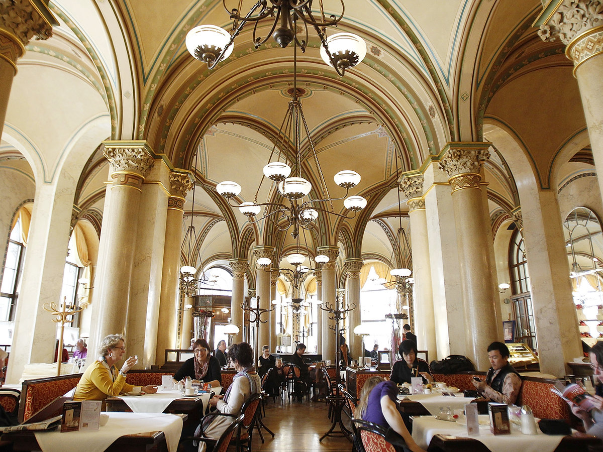 Vienna's Coffee Houses Have A Long Tradition