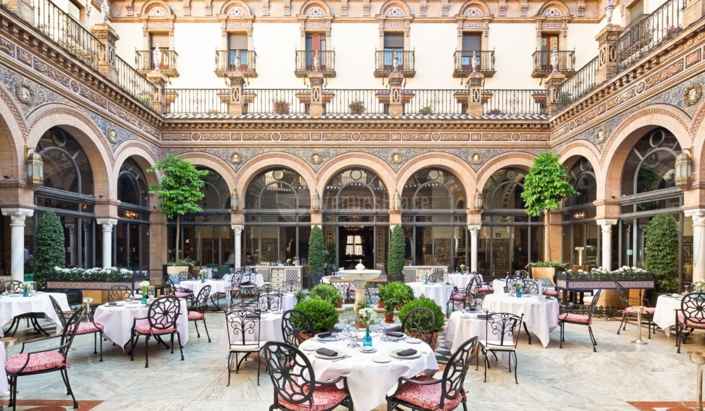 The Patio of Alfonso XIII - Seville