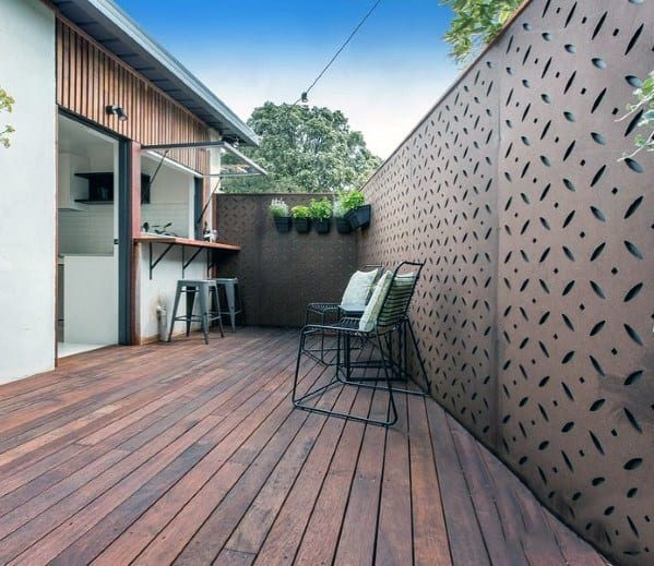 magnificent-privacy-fence-design-ideas-metal-patterns