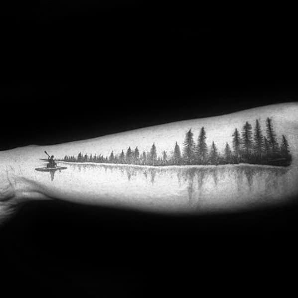 outer-forearm-creative-river-tattoos-for-men