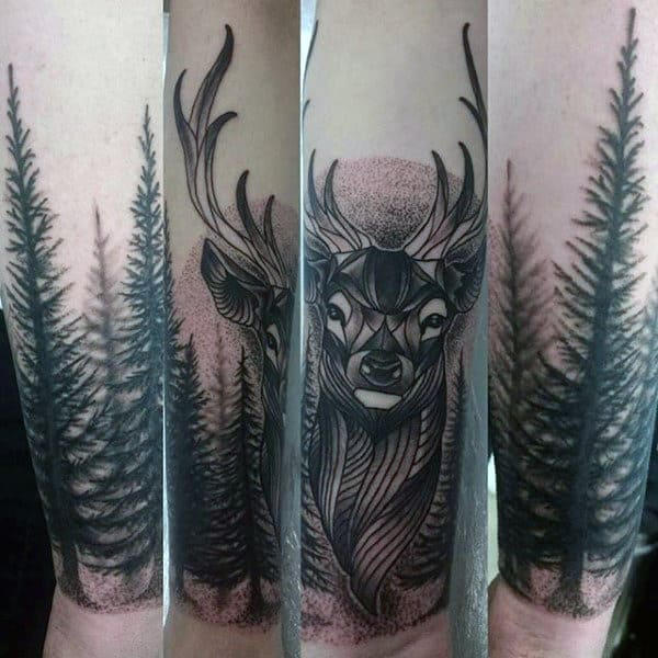man-with-tattoo-of-deer-on-lower-wrist